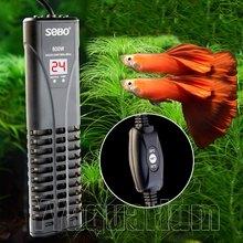 Chauffe-eau intelligent à Double capteur numérique | Contrôle externe, pour Aquarium, chauffage de l'eau Submersible, Thermostat de réglage du poisson