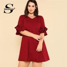 d0fb74e7a02a4 Elegant Burgundy Dress Promotion-Shop for Promotional Elegant ...