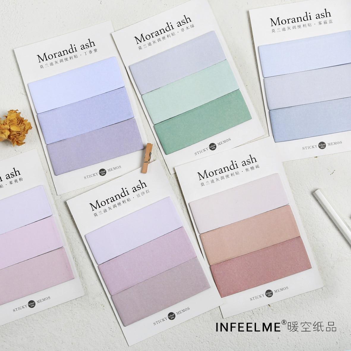 20 sets/1 lot Creative His gray tone Memo Pad Sticky Notes Escolar Papelaria School Supply Bookmark Post it Label