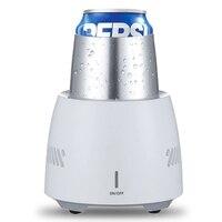 100 240V Mini Electric Refrigerator Cup Instant Cooling Cups Fridge Cooler Summer Cooling Maker UK EU US AU Plug Home Supplies