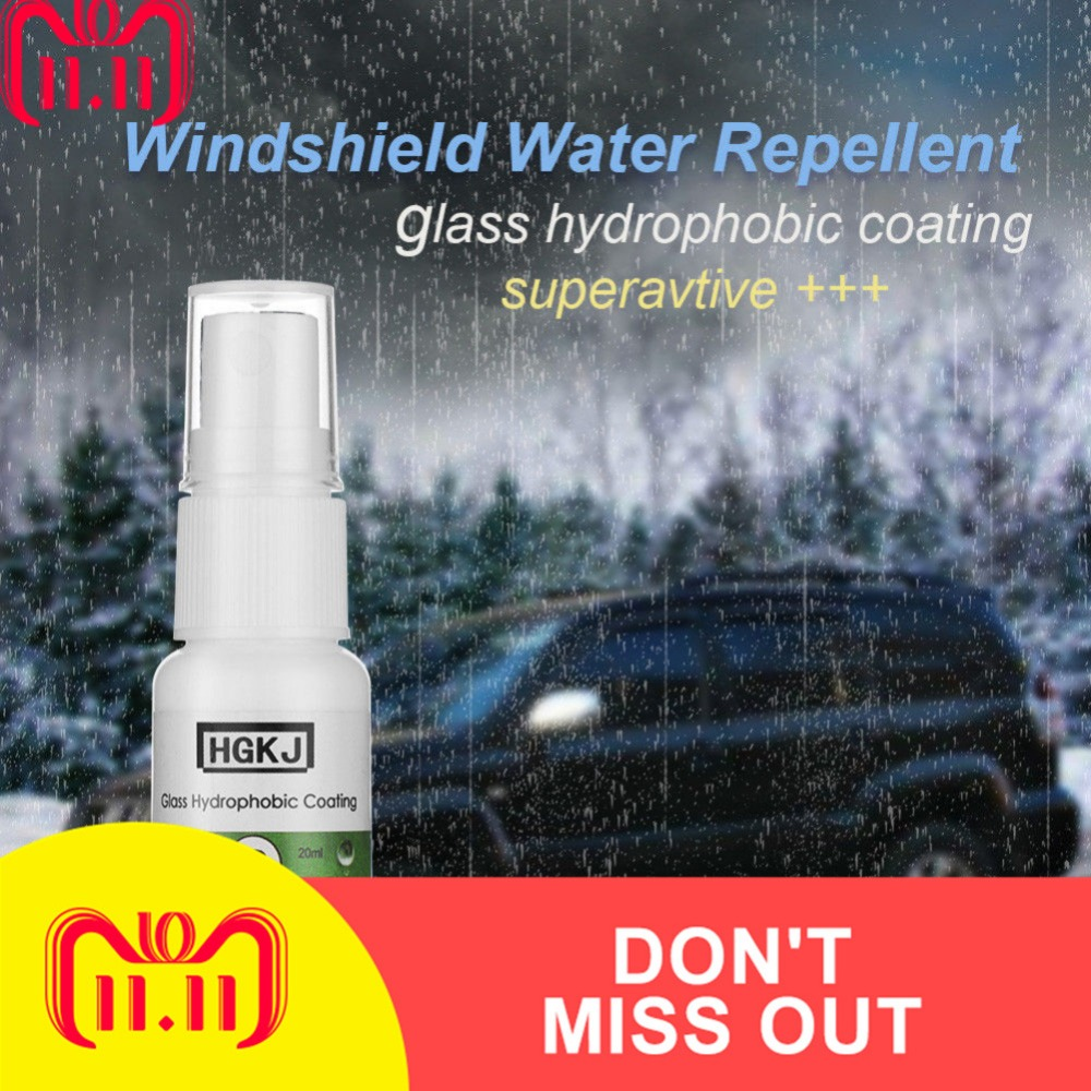 20ml Auto Glass Rainproof Agent Durable Rearview Mirror Waterproof Sprays 3-6 Months Lasting Drop Shipping Car Accessories TLSM1