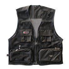 New Fashion Overalls Vest Men Tactical Vest Special Forces SWAT Military Director Fisherman Mesh Black Vest Quick Drying Clothes(China)
