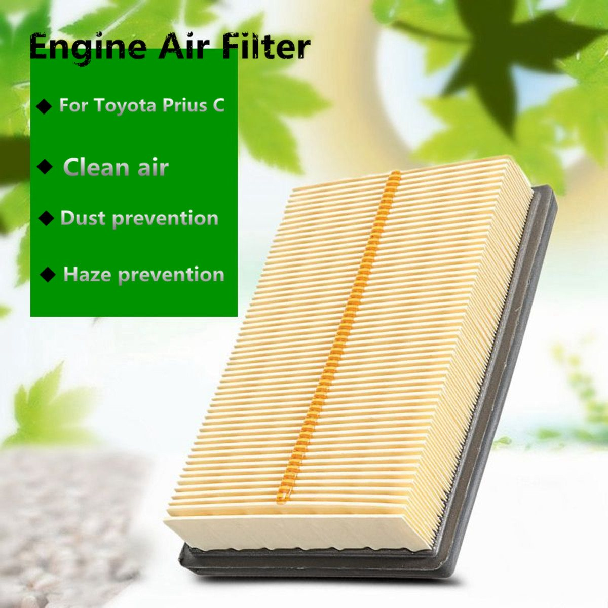 1Pc New Car Cabin Engine Air Filter For Toyota Prius C 2012-2014 17801-21060 20pcs lot aod484 d484 to 252 free shipping new ic