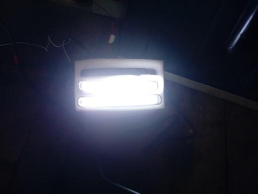 Eonstime 2pcs 20cm COB LED Vehicles Car Daytime Running Light DRL Super White Warning Lamp Installation Bracket 12V/24V E4