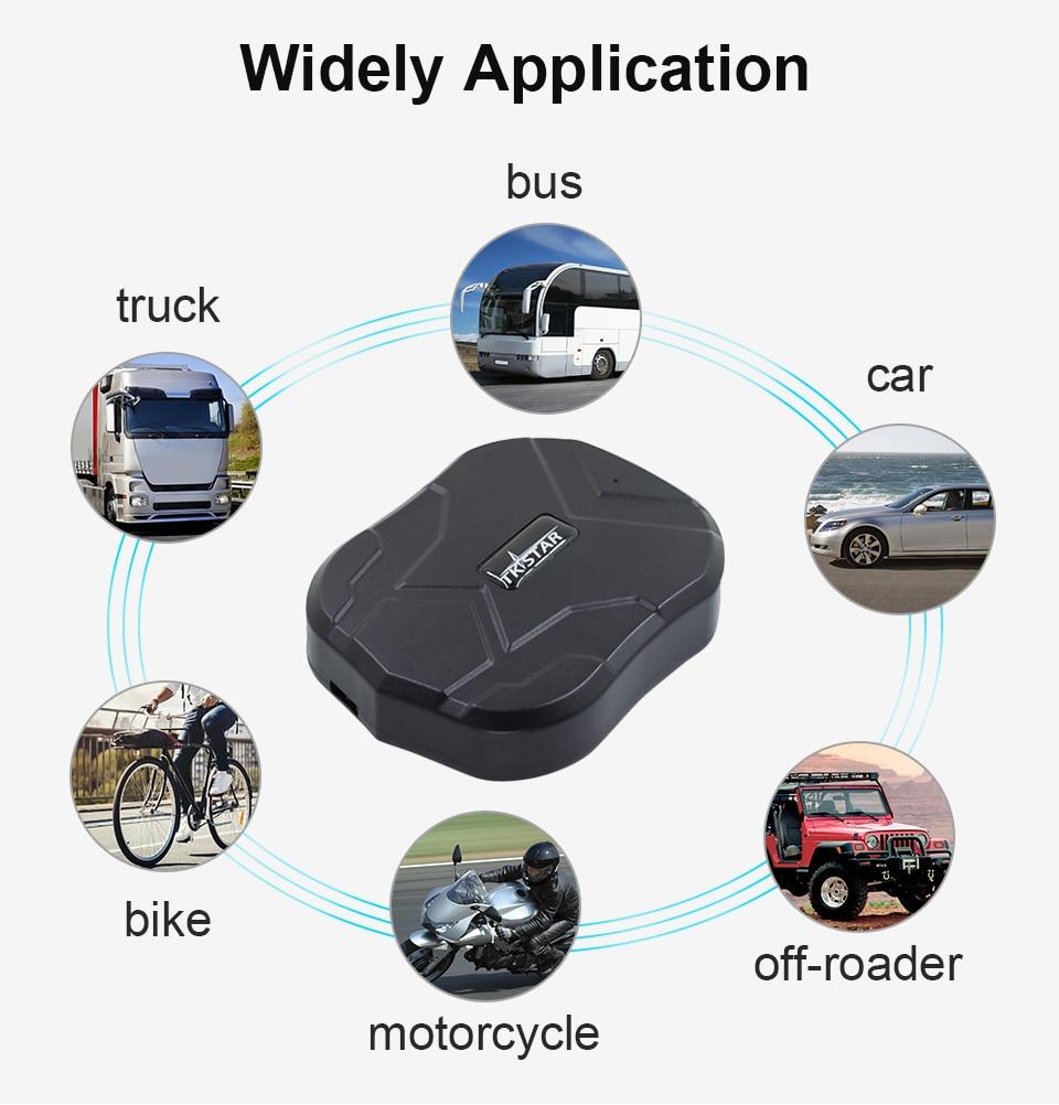 TK905B Car GPS Tracker Waterproof Magnet 10000mAh 120Days Long Battery Life 2G TKstar Vehicle GPS Locator