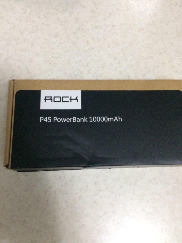 ROCK Slim 10000 mAh Power Bank,Portable Ultra thin Polymer LED Powerbank external battery poverbank 10000mah for Mobile Phone