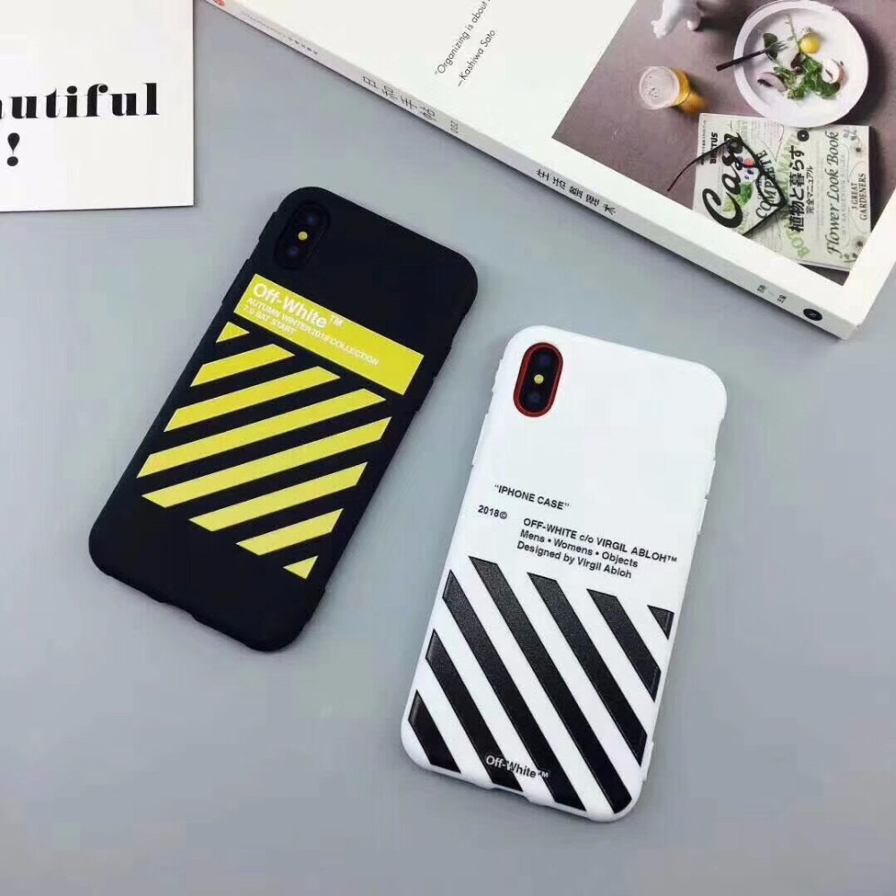 coque iphone 7 plus off white