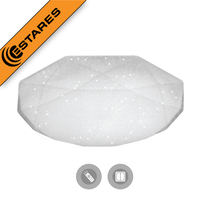 ESTARES Controlled LED Ceiling light ALMAZ 60W SHINY 220V IP44