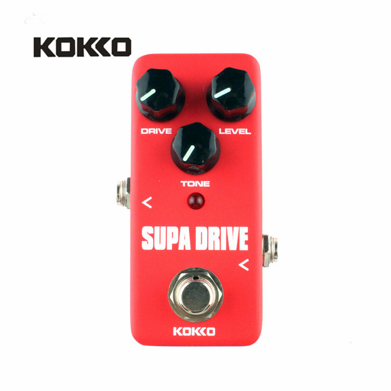 KOKKO FOD5 Supa Drive Classical Guitar Effects Pedal Guitarra Effects for Electric Bass Guitar Parts Accessories two way regulating lever acoustic classical electric guitar neck truss rod adjustment core guitar parts
