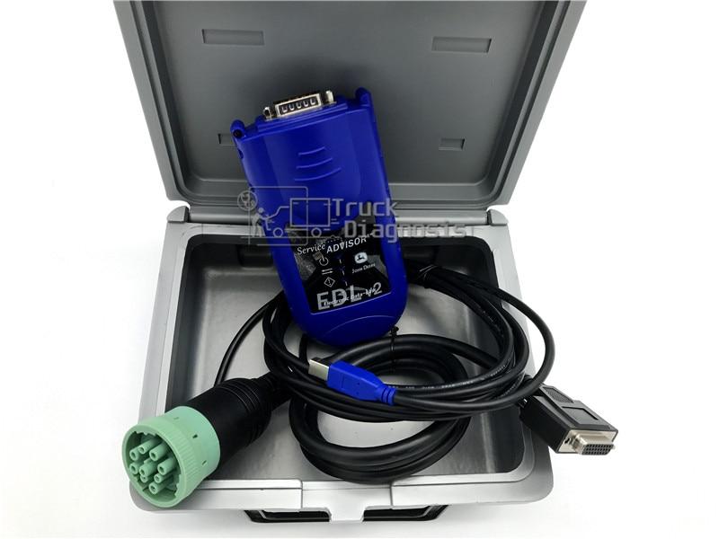 EDL Agriculture Diagnostic Scanner JD EDL v2 service advisor diagnosis tool Construction for JD EDL forklift