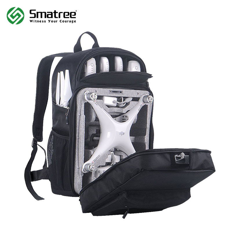 Smatree Phantom 4 Backpack for DJI Phantom 4/4 Pro(Original Styrofoam Case, Phantom 4 Battery, Propellers NOT Included)