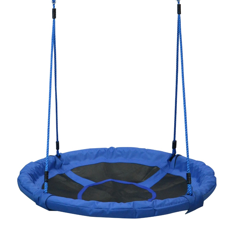 Flying Saucer Round Tree Swing Chair Outdoor Backyard Playground Will Help Your Child To Soar . The Best Gift Idea For Kids