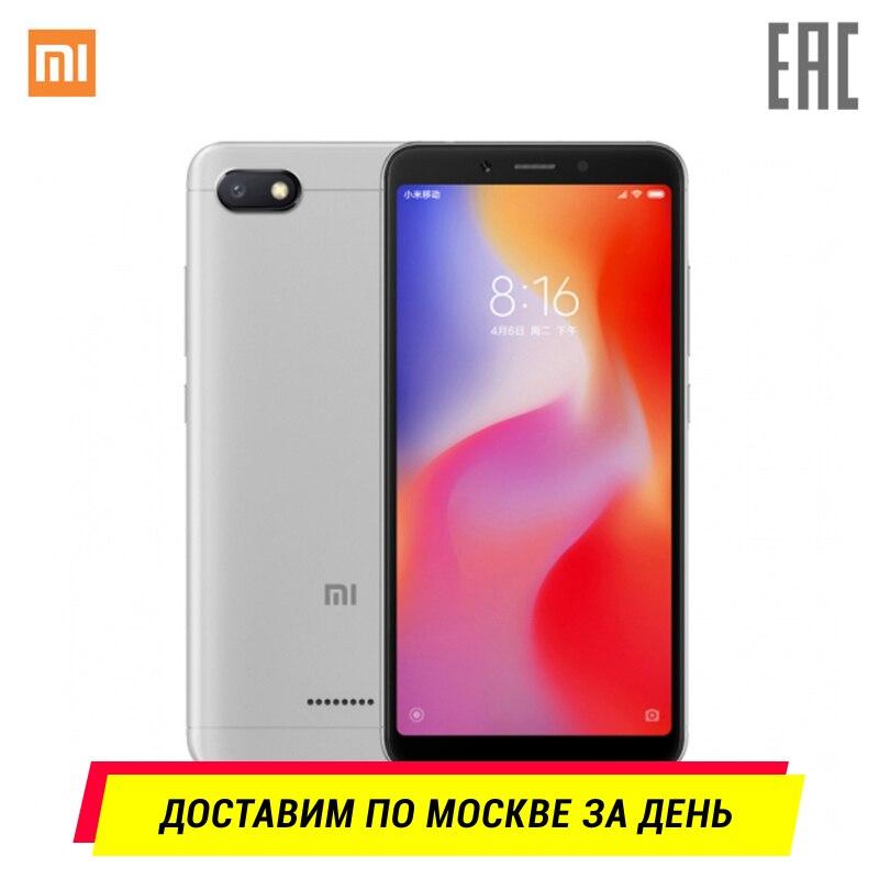 Смартфон Xiaomi Redmi 6A 2ГБ+16 ГБ. Официальная гарантия 1 год, Доставка от 2 дней, Эксклюзивно в TMALL