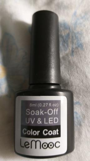 LEMOOC Gel Nail Polish 186 Pure Colors 8ml Soak Off Manicure UV Gel Super Sticky Adhesive Gel for Nail Varnish lacquer