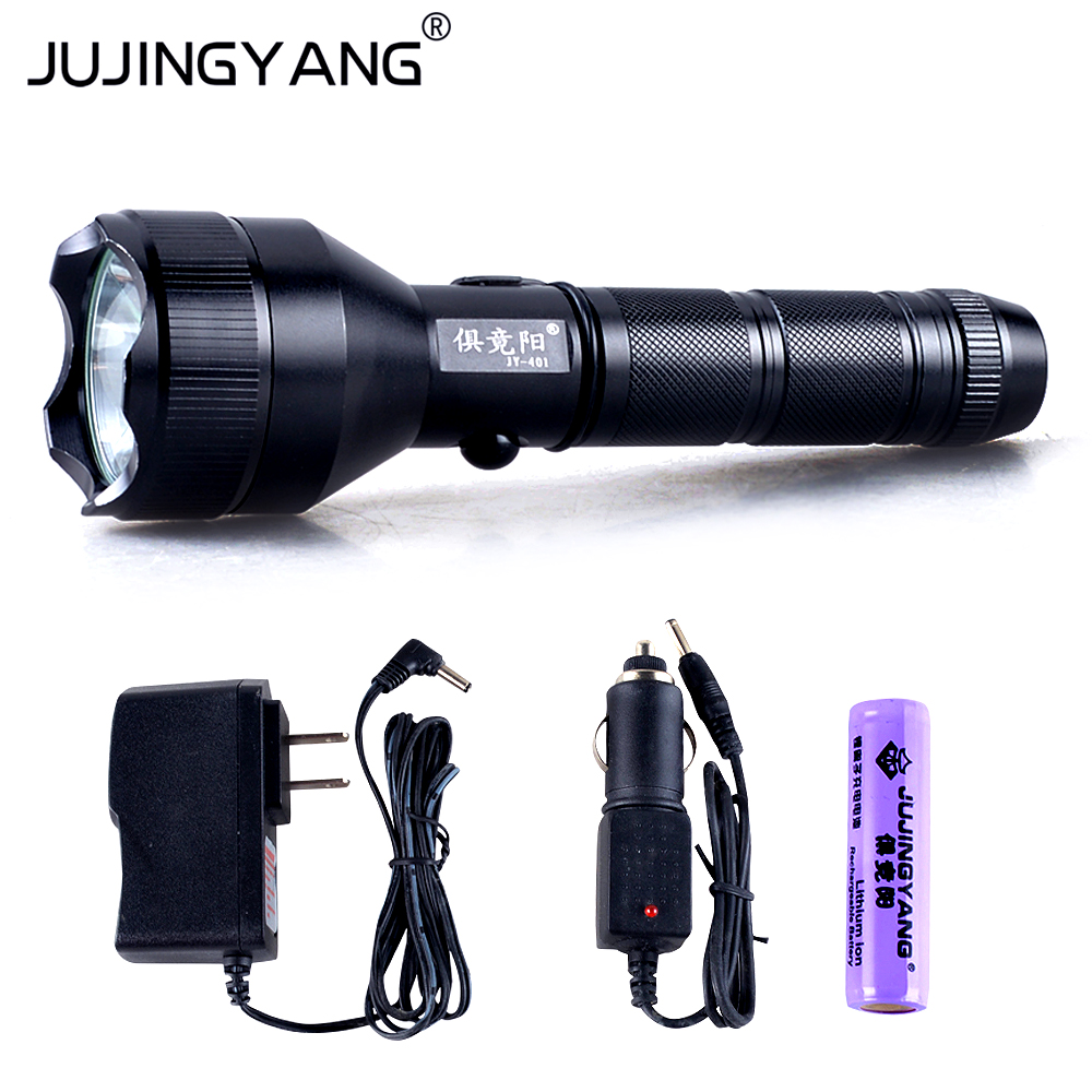 Tactical flashlight LED Tactical flashlight for Self-defense,1101,hunting,camping bright tactical flashlight distant 500m for hunting mountaineering outdoor self defense electric torch without battery