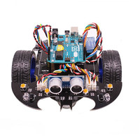 YahBoom Smart Bat Robot Intelligent Programming Bluetooth Control Car Kit With For Arduino UNO R3 Board