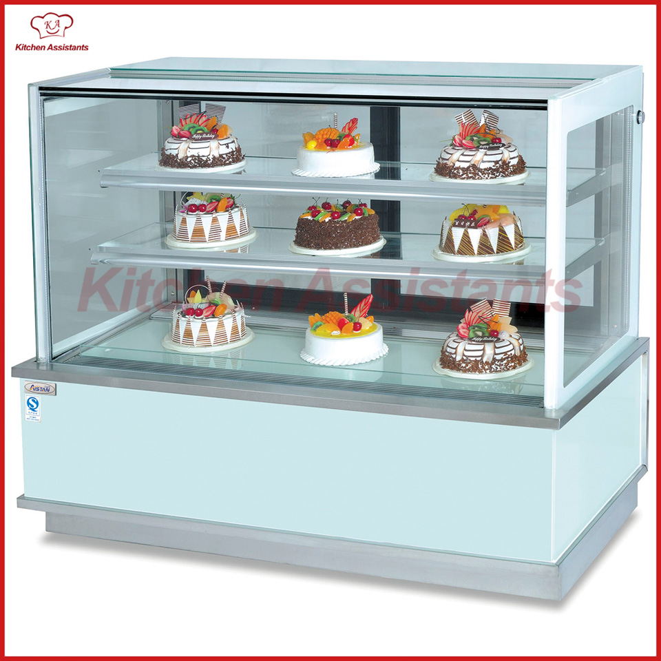 CLN1800 Large Big Cake Display Cooler For Bread Store Shop Restaurant