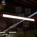 CHARLESLIGHTING 1800 мм линейная светодиодная Подвесная лампа  подвесной кабель  шнур  освещение для офиса  столовой  Потолочная светодиодная Подвес...