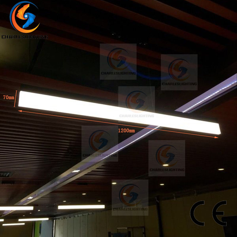 CHARLESLIGHTING 1800MM linear LED pendant lamp light hanging cable cord light office dinning room ceiling LED hanging lamp light цена и фото