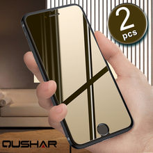Tempered Glass Screen Protector Ultra Thin 9h 2.5d for iPhone 4s 5 5S 5G 6 6P 7 8 PLUS X Mobile Protective Film Phone Guard 2PCS(China)