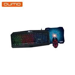 لوحة مفاتيح وماوس Qumo بيضة K28/M28