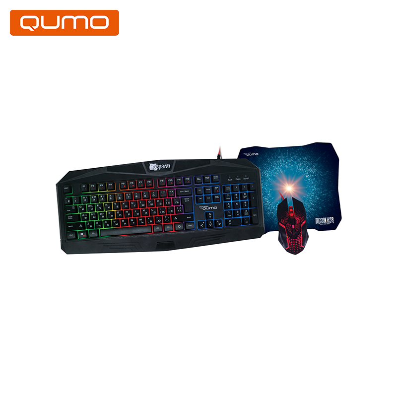 цена Keyboard and mouse Qumo Respawn K28/M28 онлайн в 2017 году