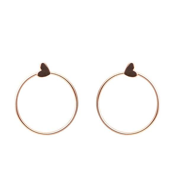 Agatha Ruiz De La Prada  Stella gold earrings rose