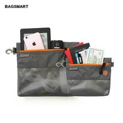 BAGSMART 2 шт. упаковка BagsTravel Водонепроницаемая Косметика сумка электроники интимные аксессуары сумояка для пасспорта Kindle держатель