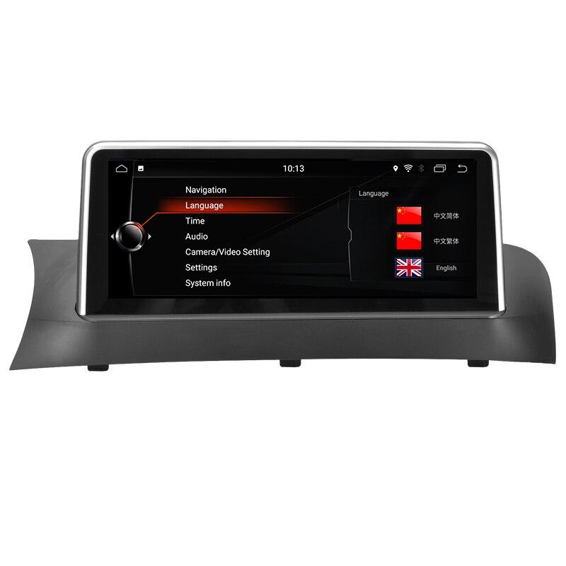 Автомобильный мультимедийный проигрыватель автомобиля gps навигации для BMW X3 F25 X4 F26 2011 до 2013 CIC Системы 10,25 Android 8,1 PX6 шесть основных Wifi BT