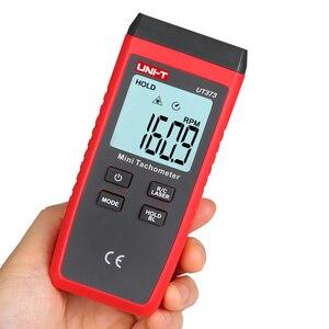 Image 2 - UNI T UT373 Mini tachymètre; Tachymètre numérique sans contact, mesure de régime/mesure de comptage, indication de surcharge