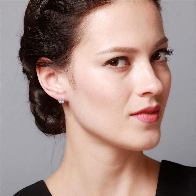 Uloveido Crown Studs Cubic Zirconia Earrings Fashion Stud For Men Women Jewelry Gold Color Male Earring 49 Off Y048