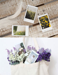 Image 3 - 100 Sheets Fujifilm Instax Mini 8 film for Fuji 7s 9 70 25 50s 90 Instant Photo Camera White FilmShare SP 1 SP 2