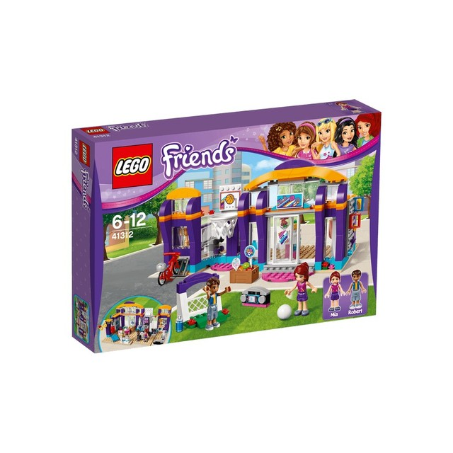 Конструктор LEGO FRIENDS Спортивный центр 41312-L
