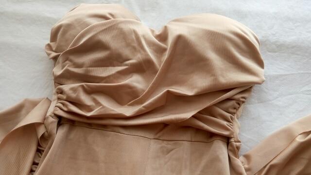 NATTEMAID осень комбинезоны, женский комбинезон Женщины повязки без бретелек slash шеи Bodycon Комбинезоны Твердые club sexy комбинезон для женщин