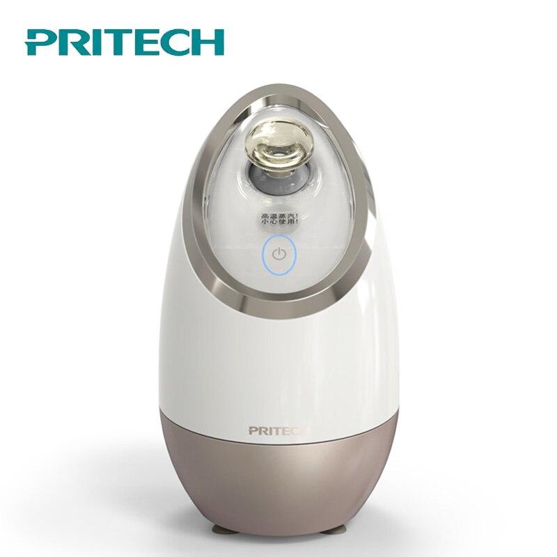 PRITECH électrique vapeur pour le visage beauté visage vapeur nettoyeur pour le visage Machine appareil thermique pour le visage pulvérisateur outil de soin de la peau #6218