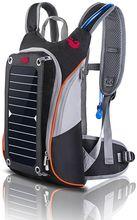 Brand New Solar paneeli seljakott ratsutamine Lovers veekott Multi-funktsioon Meeste reisimine seljakott brändi suur võimsus veekott