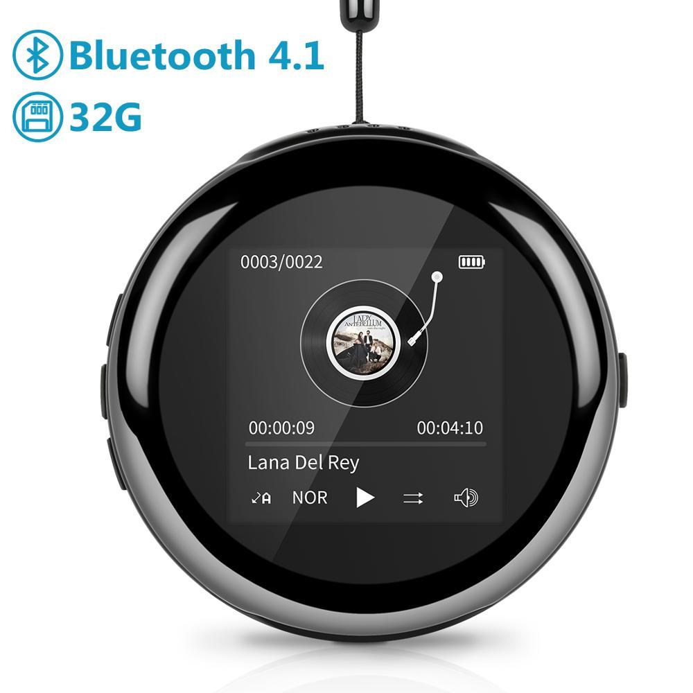 Leelbox lecteur MP3 MP 3 mini M1 eplucheur d'écran clip de musique reproductor enfants sport led lecteurs mp3 sans fil audio numérique