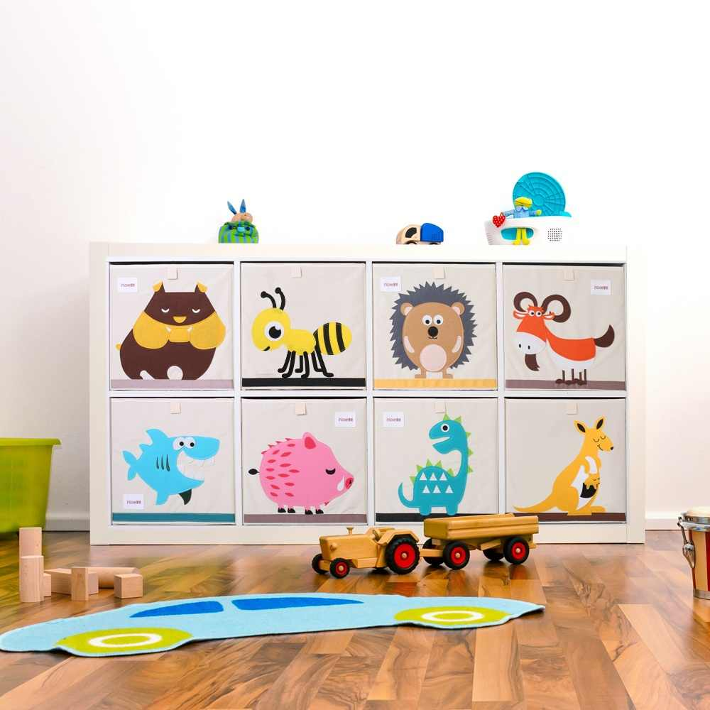 New Cartoon Animal Toy Storage Box