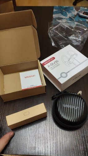 Wavefun bluetooth наушники IPX7 водонепроницаемые беспроводные наушники спортивный бас Bluetooth наушник с микрофоном для телефона iPhone xiaomi наушников наушником гарнитура