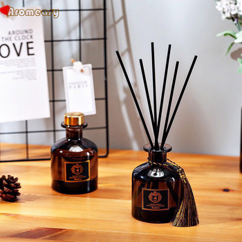 Aromeasy 50ml Reed diffuser sets good smell perfume, bedroom air freshener, long-lasting fragrance, European-style perfume. 1