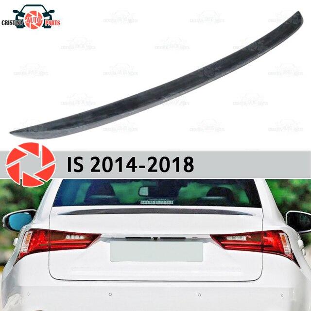 Спойлер для губ Lexus IS 2014-пластик ABS Украшения багажника двери аксессуары Защитная оклейка автомобилей