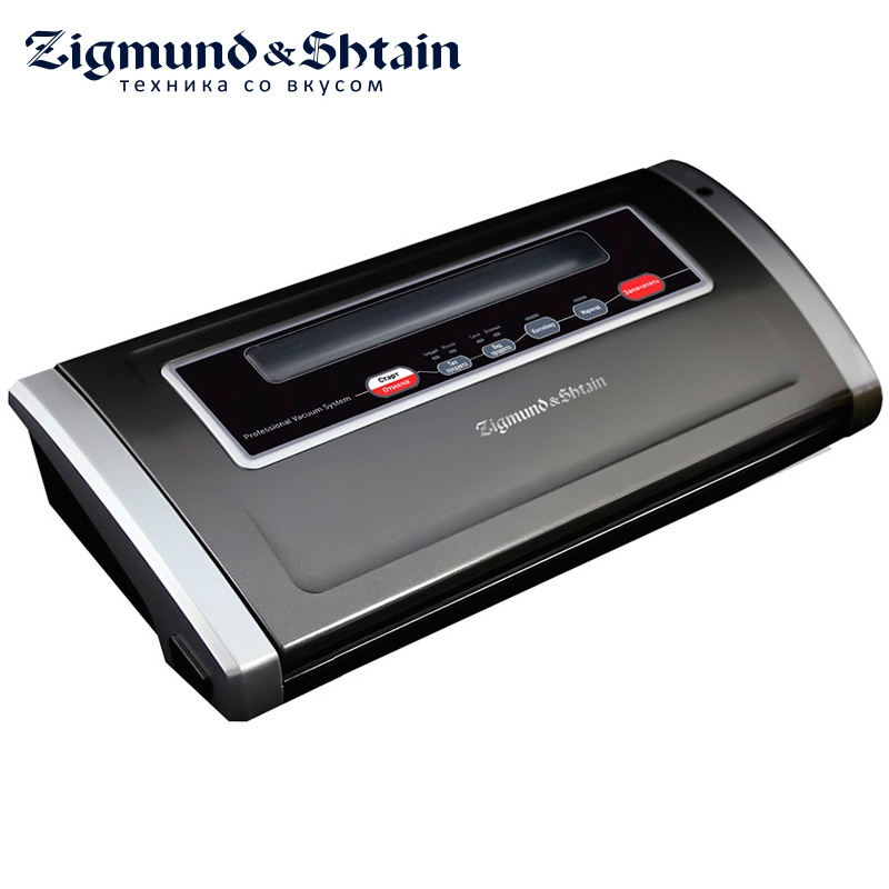 Zigmund & Shtain VS-505 Vacuum packing machine Vacuum Food Sealer 170W 2 modes of autovacuuming Vacuuming in containers 110v 220v household food vacuum sealer packaging machine film sealer vacuum packer including bags parts sealing machine