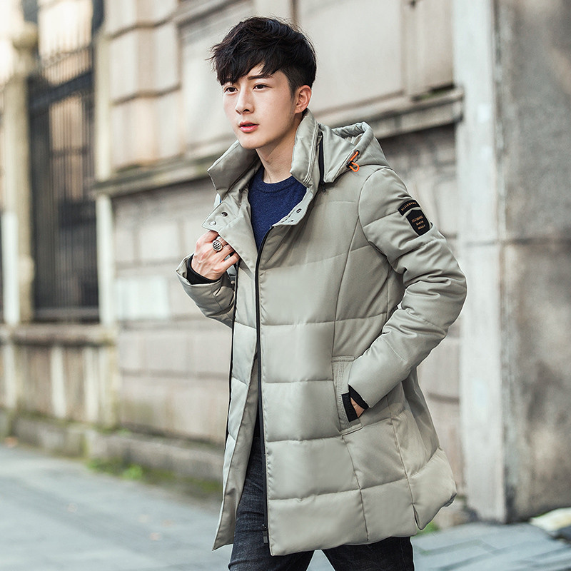 Jacket Men Warm Winter Korean Style