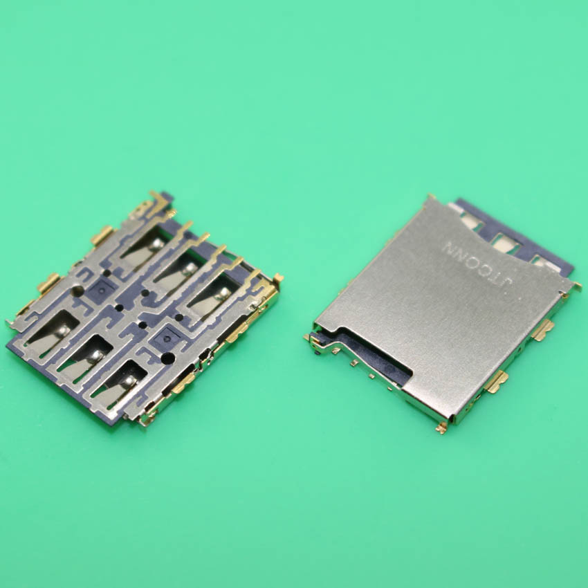 YuXi 2pcs/Lot For HTC Desire 626 626G 626W Sim Card Reader Holder Socket Tray Slot