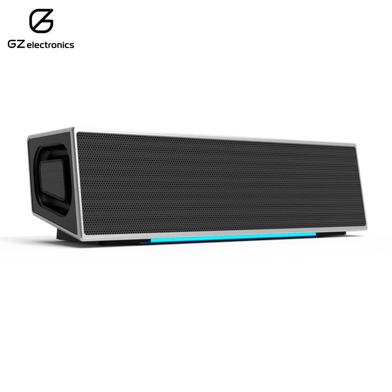 Bluetooth speaker LoftSound GZ-11 portable speakers wireless bluetooth speakers led metal steel mini portable speaker smart hands free speaker with fm radio sd card support