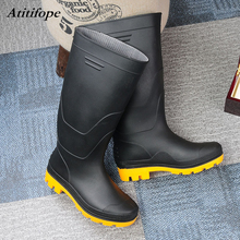 Rain Boots Waterproof hunter Shoes Nonslip Work Boot Rubber Footwear men Original Tall