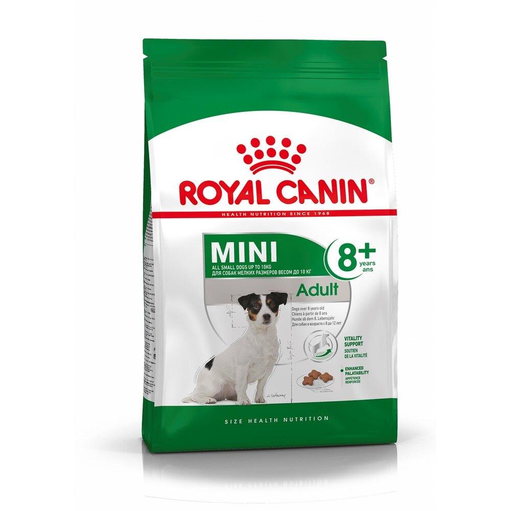Royal Canin Mini Adult 8+ для собак старше 8 лет мелких пород, 4 кг