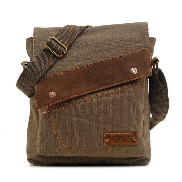 Men's messenger bag men Designer Handbag Canvas Casual Messenger Bag Students school bags 2