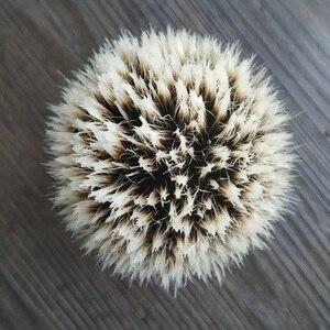 Image 4 - Dscosmetic フックアナグマ毛ゲルヒント 3 ノットシェービングブラシ黒樹脂ハンドル