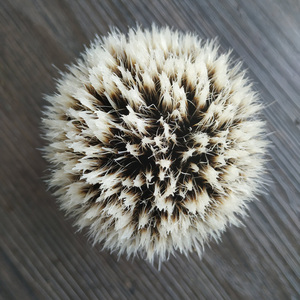 Image 4 - dscosmetic hook badger hair gel tip 3 knots shaving brush black resin handle